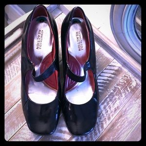 Kenneth Cole patent shoes
